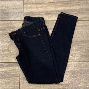 Armani Exchange size 6 dark blue jeans